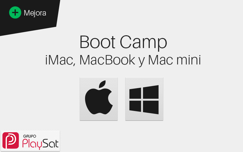 Boot Camp en iMac, MacBook y Mac Mini.