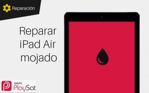 Reparar iPad Air mojado