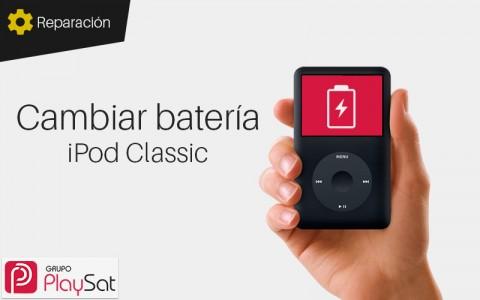 Cambiar bateria iPod Classic