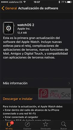Actualizar-WatchOS-2