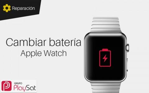 Cambiar batería Apple Watch