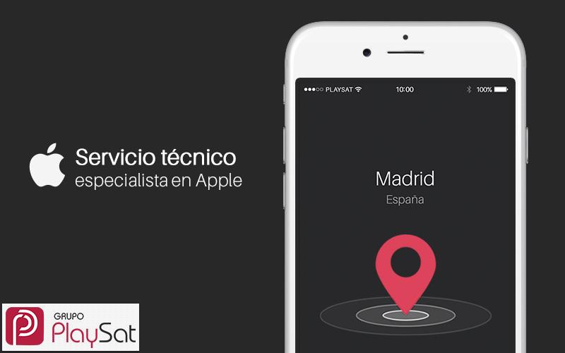 Servicio tecnico Apple Madrid