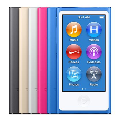Reparar iPod nano