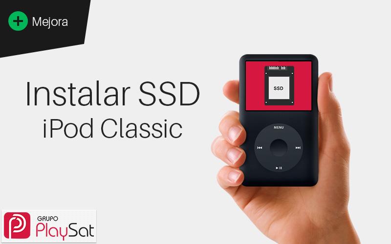 Instalar SSD en iPod Classic