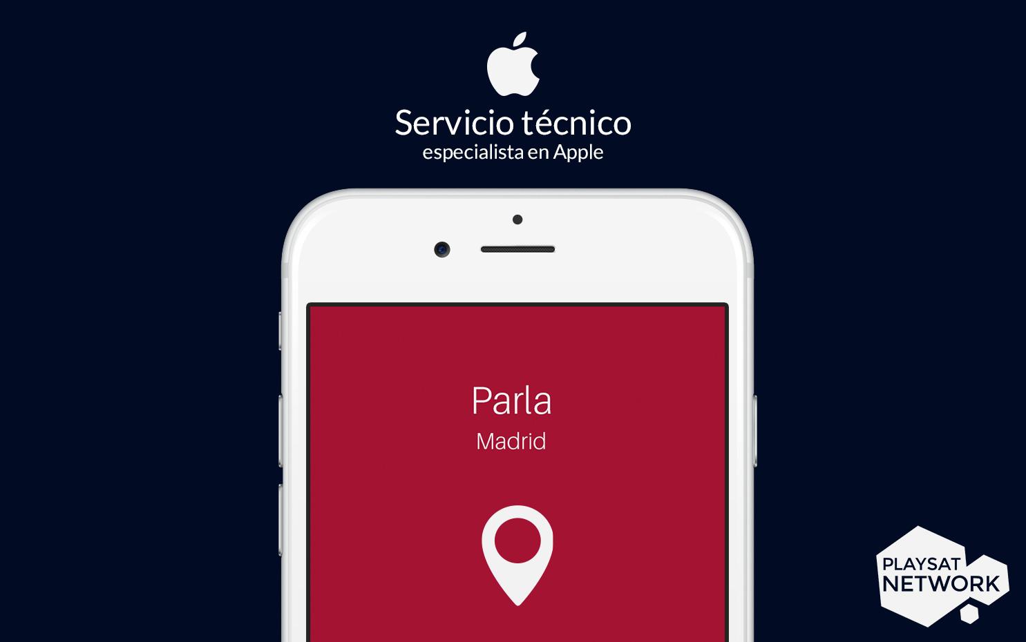 Servicio técnico Apple en Parla