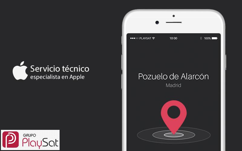 Servicio técnico de Apple Pozuelo de Alarcón