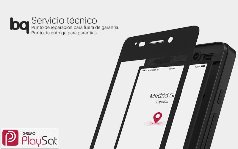 Servicio técnico BQ Madrid Sur