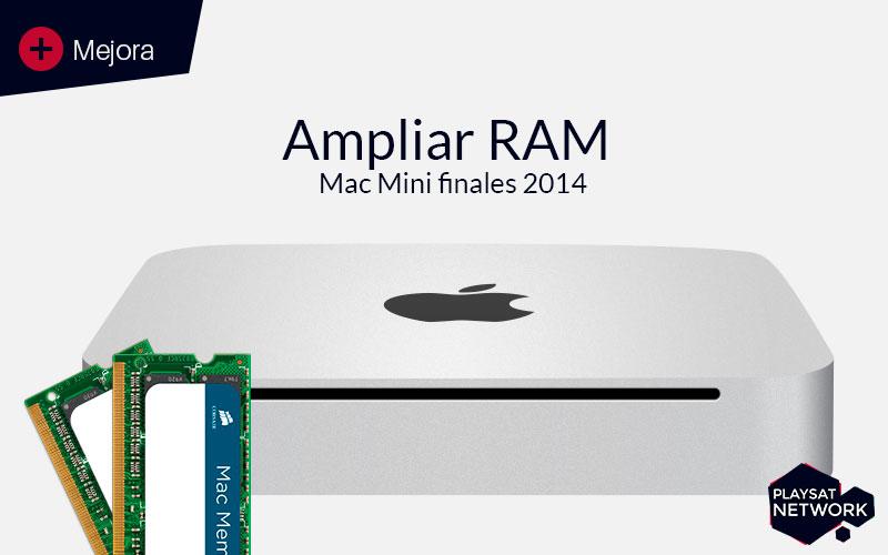ampliar memoria ram mac mini 2013