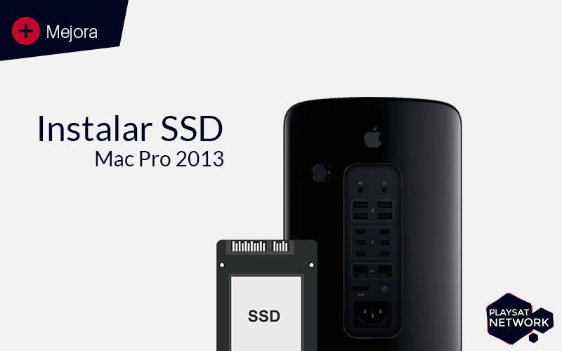 Instalar SSD en Mac Pro 2013