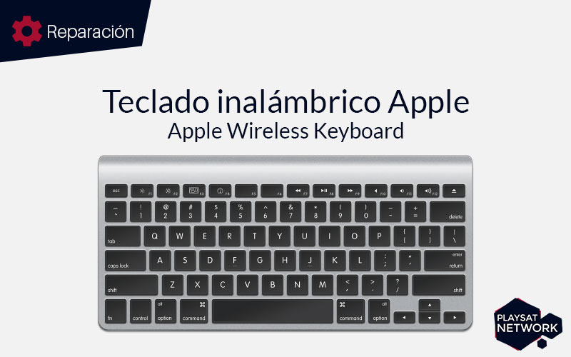 Reparar teclado inalámbrico Apple