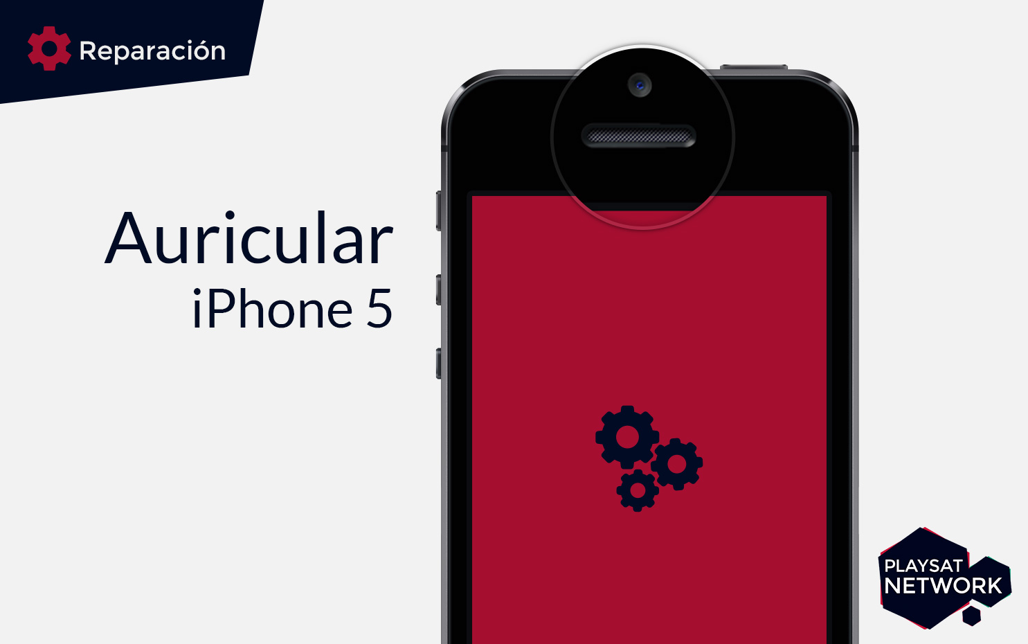 Reparar auricular iPhone 5