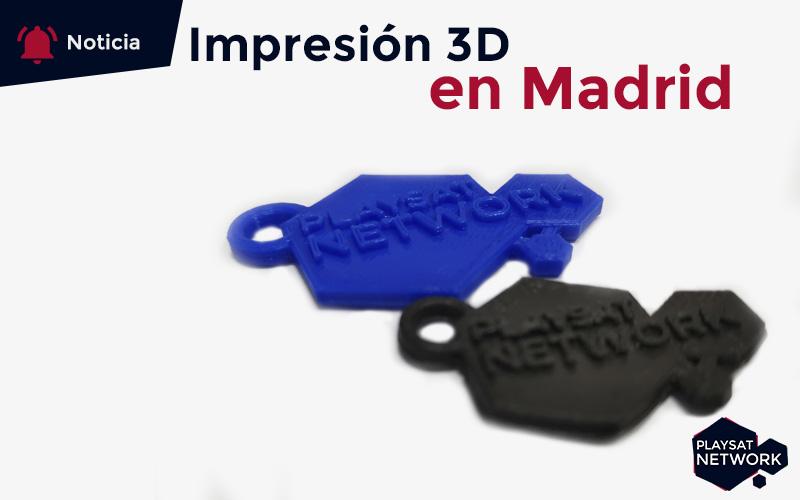Impresión 3d en Madrid