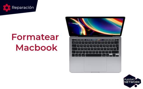 Formatear Macbook