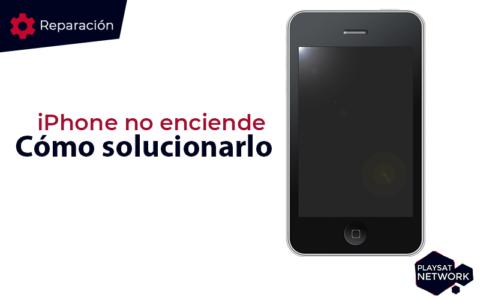 iphone no enciende