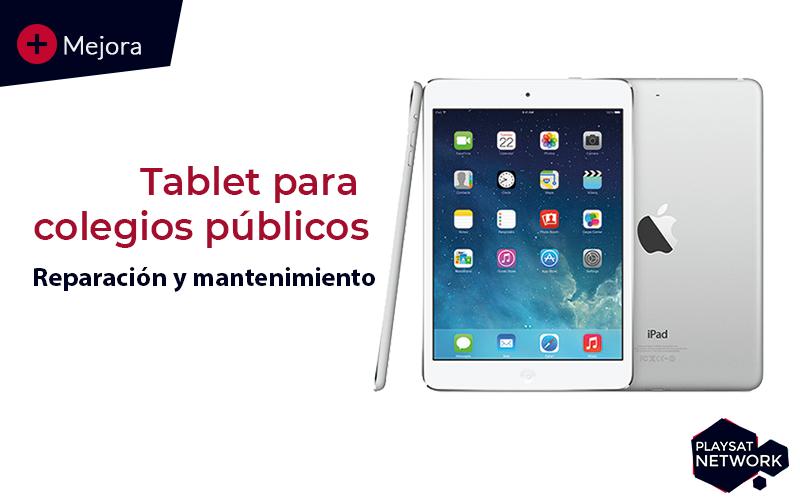 tablet para colegios publicos