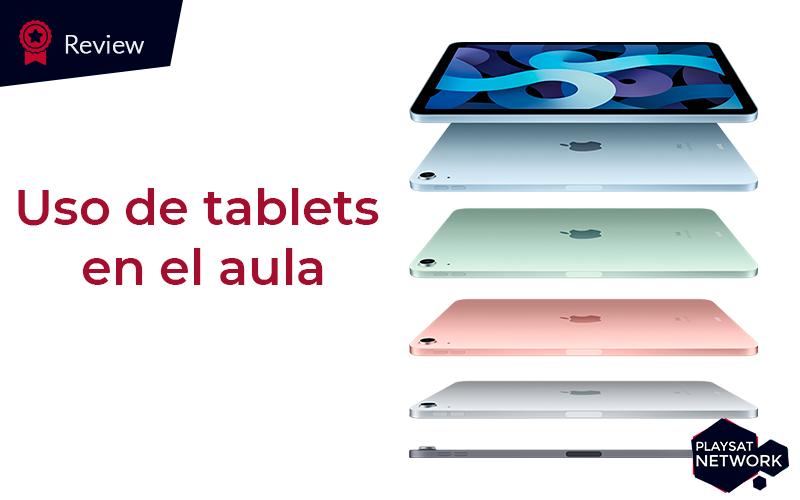 uso de tablets en el aula