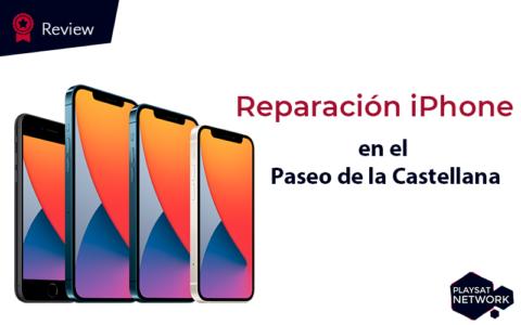 reparacion de iphone en el paseo de la castellana